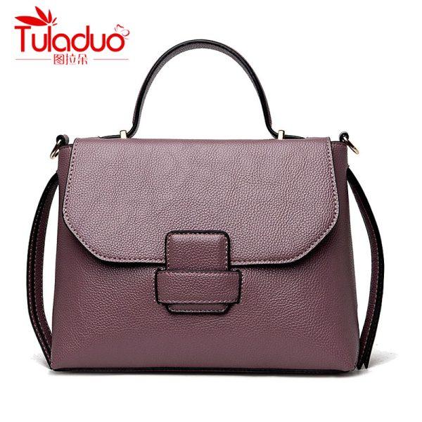2e01736e0bc5 TULADUO European luxury Handbags Women Bags Designer High Quality PU Leather  Shoulder Bag Ladies Messenger Handbag Tote Bag