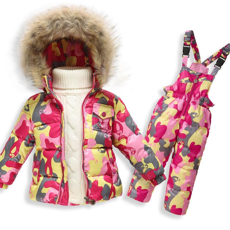 52bdc457ebfc Kids Outwear White Duck Down Coats Boys Girls Goose Down Jacket ...
